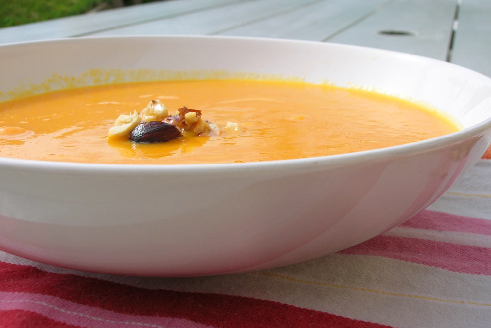 Recette soupe potiron - Soupe potiron cocotte minute ...