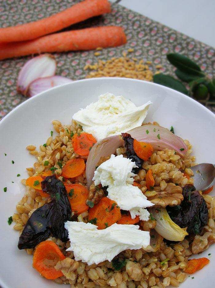 Salade d 39 peautre cocotte et biscottecocotte et biscotte - Salade d hiver variete ...