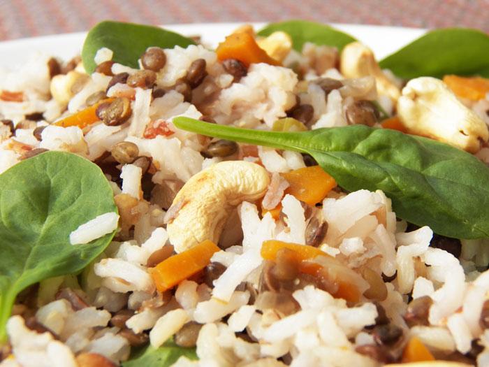 assaisonnement salade de riz