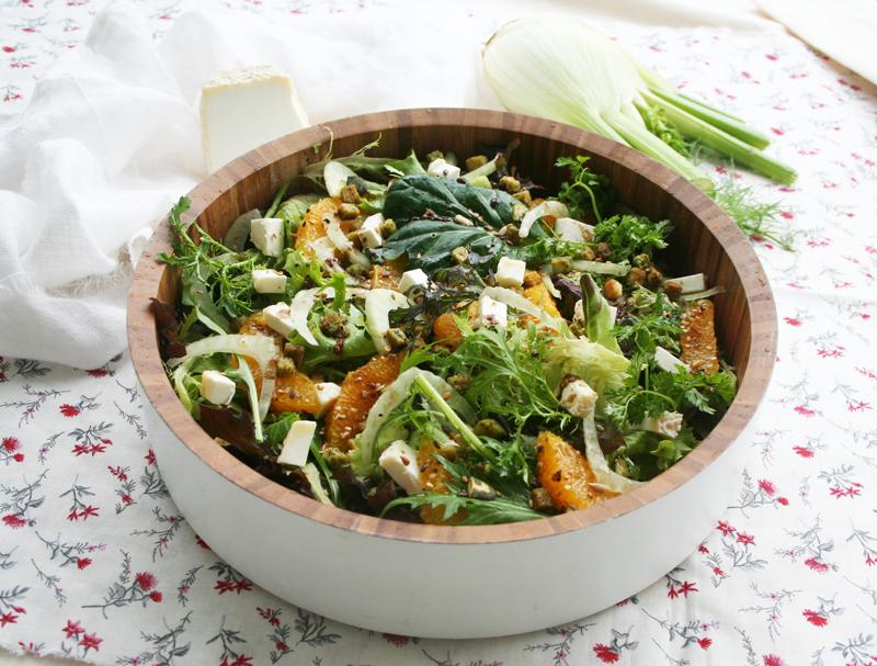 salade-orange-fenouil-chèvre-1