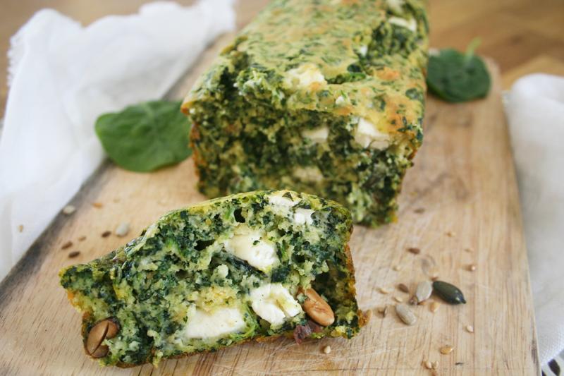 Cake Feta Epinard