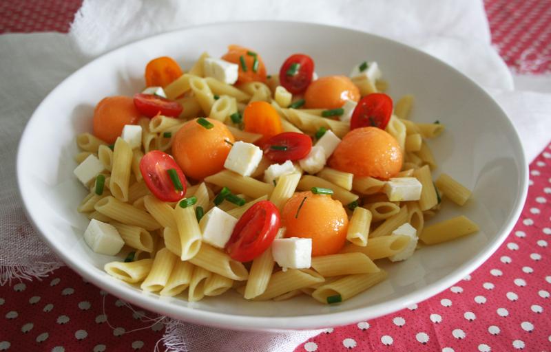 salade-pates-melon-feta-2