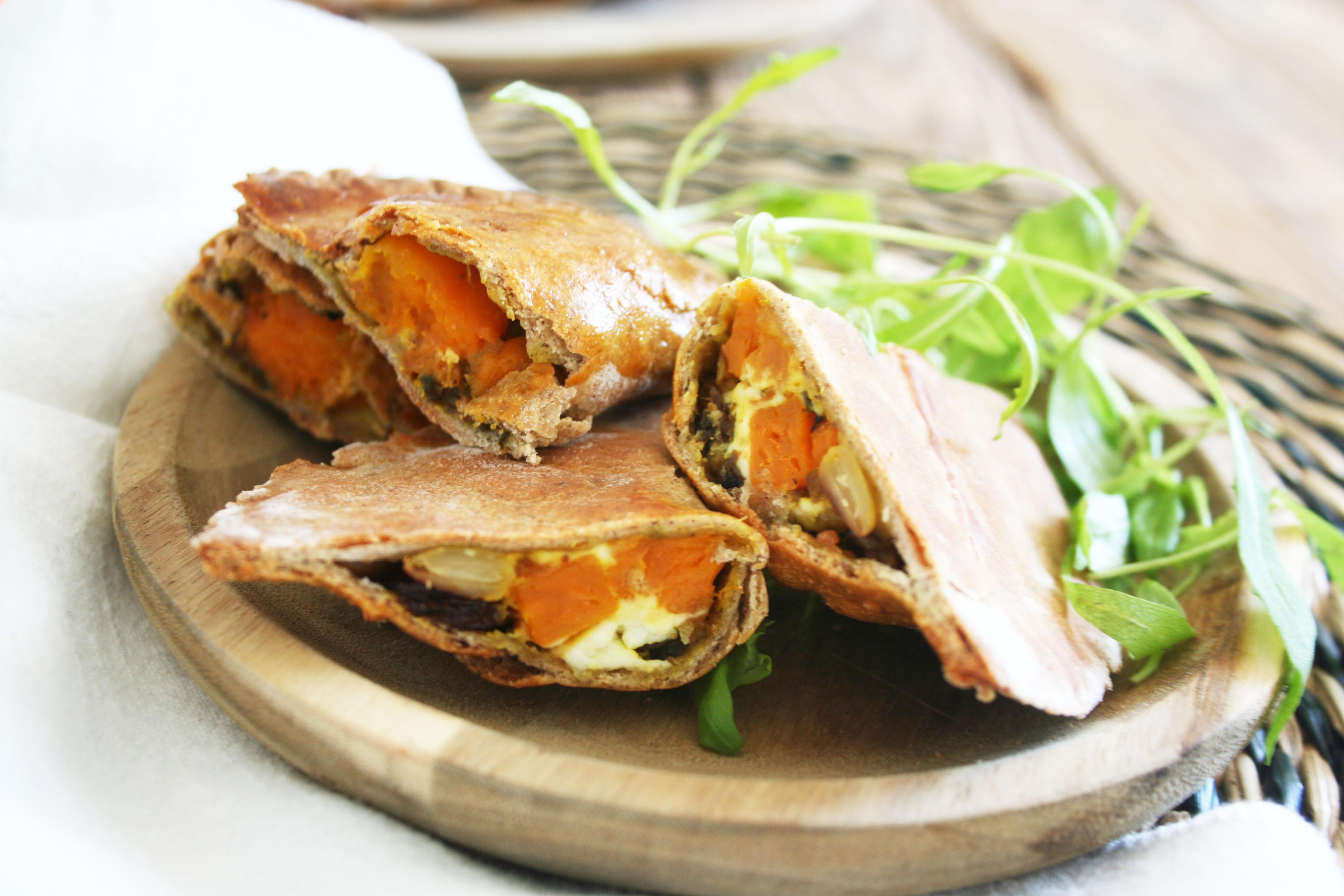 Petits chausson sarrasin et légumes d'hiver. Une recette gourmande de  saison.Cocotte et Biscotte